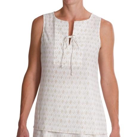 Pendleton Lila Crepe Shirt - Sleeveless (For Women)
