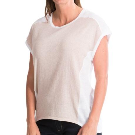 Pendleton Pieced Shirt - Short Dolman Sleeve (For Women)