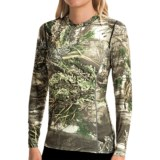 Terramar Camo Essentials Stalker Shirt - UPF 25+, Crew Neck, Long Sleeve (For Women)