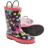 Western Chief Pattern Rain Boots - Waterproof (For Toddlers)