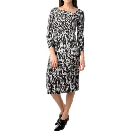 Pendleton Cynthia Zebra Jersey Dress - Long Sleeve (For Women)
