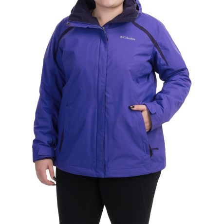 Columbia Sportswear Blazing Star Interchange Jacket - 3-in-1 (For Plus Size Women)