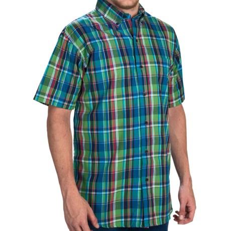 Walls Ranchwear Plaid Shirt - Short Sleeve (For Men)