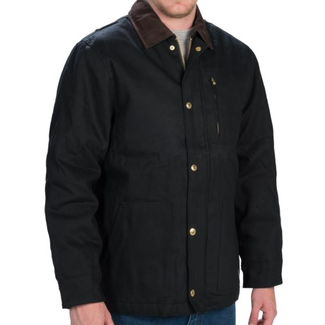 Dickies Rigid Duck Chore Coat - Insulated (For Men and Big Men)