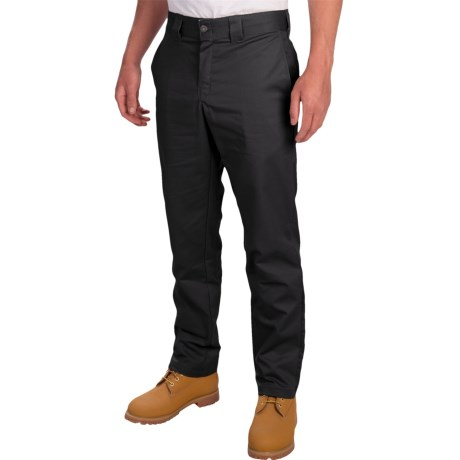 Dickies Stretch Twill Tapered Leg Work Pants - Slim Fit (For Men)
