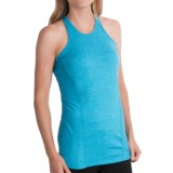 Avalanche Space-Dyed Tank Top - Mesh Racerback (For Women)