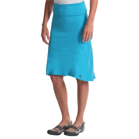 Avalanche Space-Dyed Hi-Low Skirt (For Women)