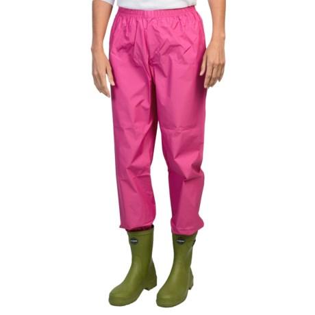 Rainstopper Rain Pants with Storage Pouch - Waterproof (For Women)