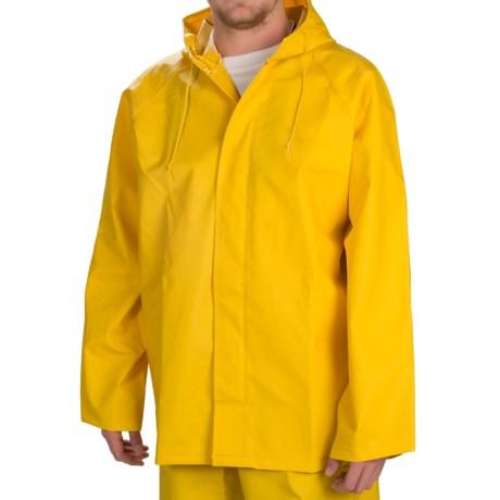 Hooded Rain Jacket - Waterproof (For Men)