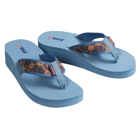 Teva Mandalyn Wedge Thong Sandals  (For Women)