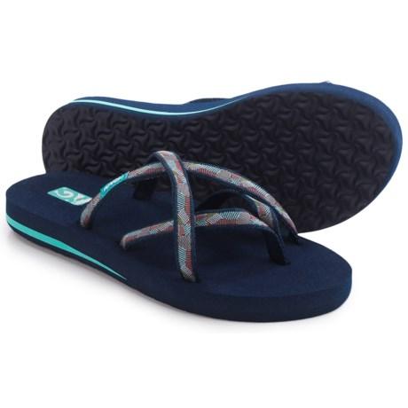 Teva Olowahu Flip-Flops - Mush® Footbed (For Women)