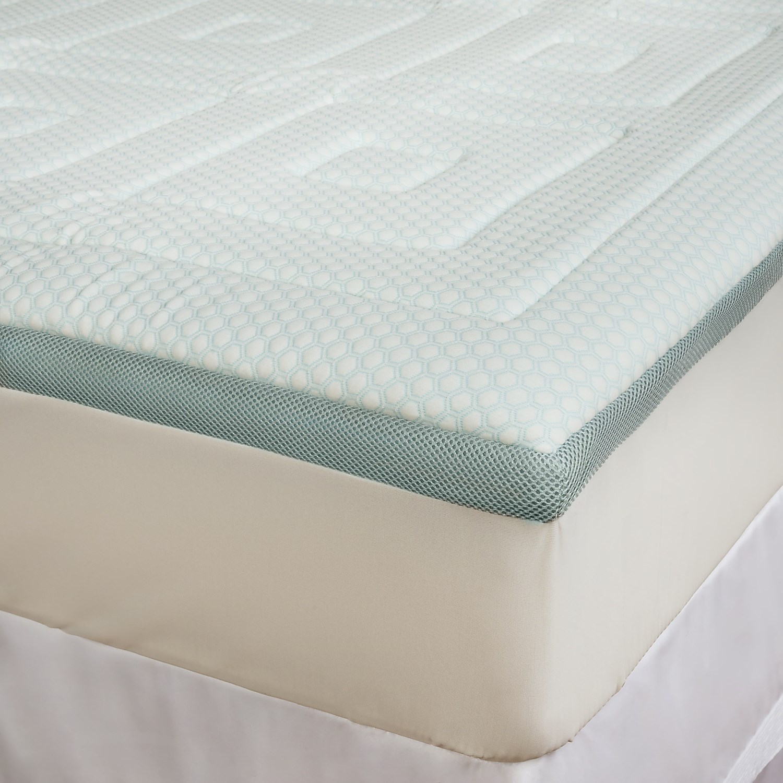 Sensorpedic Regal Cooling Foam Mattress Topper King