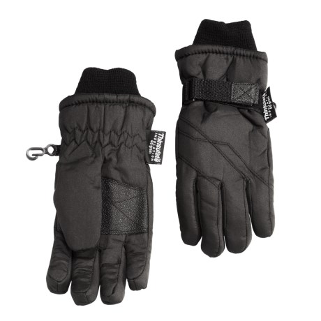 Grand Sierra Taslon Thinsulate® Gloves (For Little Boys)