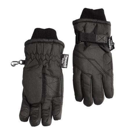 Grand Sierra Taslon Thinsulate® Gloves (For Little Boys)