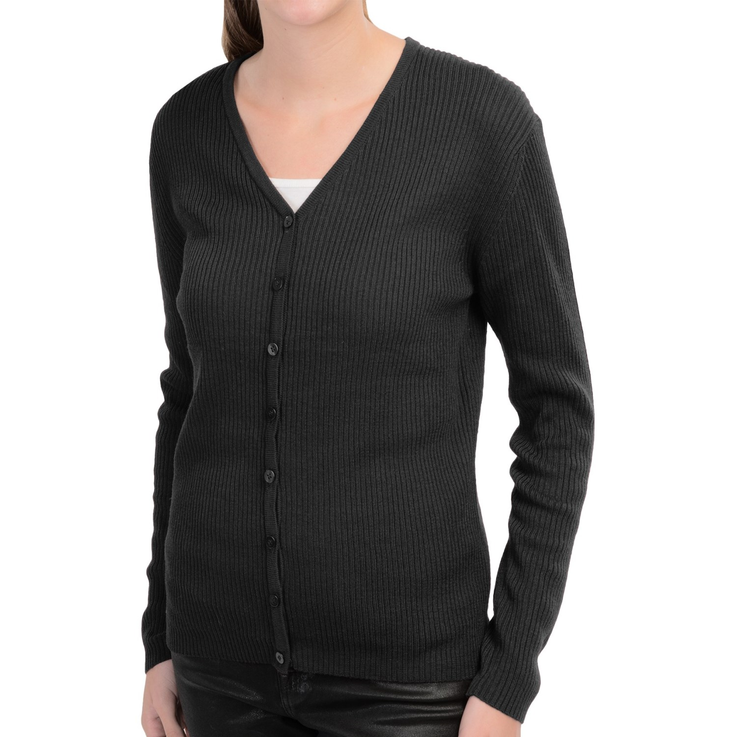 Sumptously Soft Ribbed Cardigan Sweater: neyschelethel.ga Soft. There's no other way to describe this luscious button-front cardigan. Feminine V-neckline and full needle stitching completes the look.