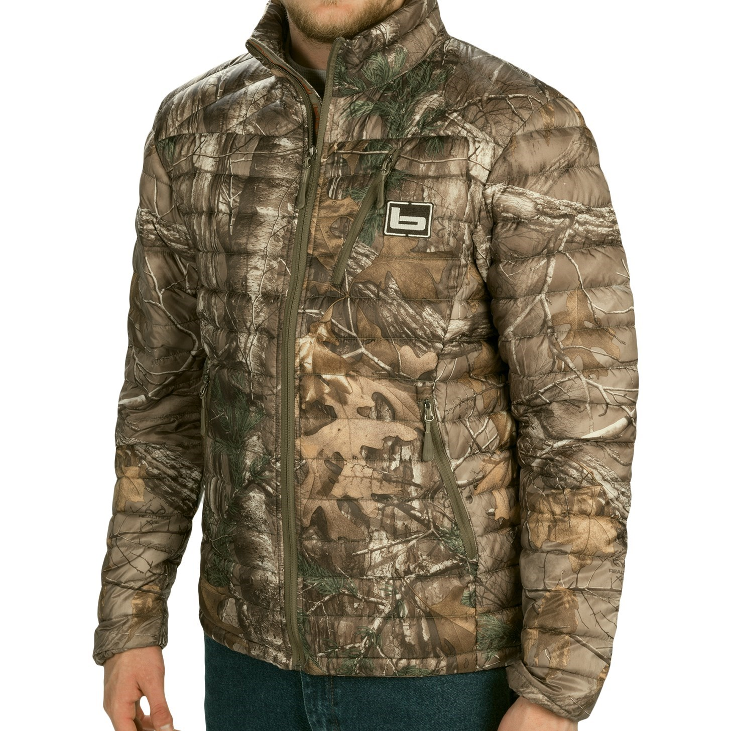 Banded Agassiz Goose Down Jacket (For Men) 9552A - Save 60%