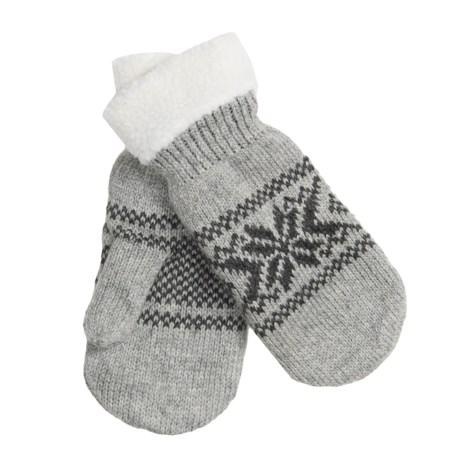 Grand Sierra Snowflake Mittens - Fleece Lining (For Women)