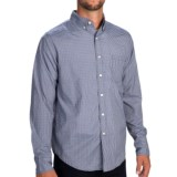 Reed Edward Mini Check Shirt - Button Down, Long Sleeve (For Men)
