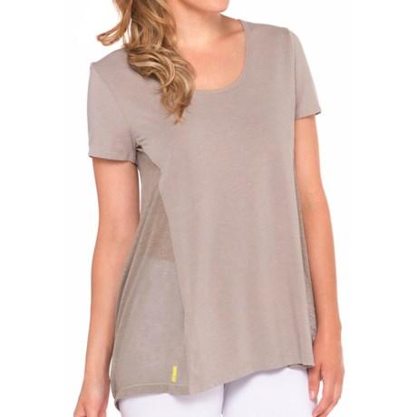Lole Mukha Shirt - Semi-Sheer Back, Short Sleeve (For Women)