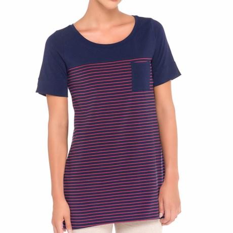 Lole Principle Tunic Shirt - UPF 50+, Short Sleeve (For Women)