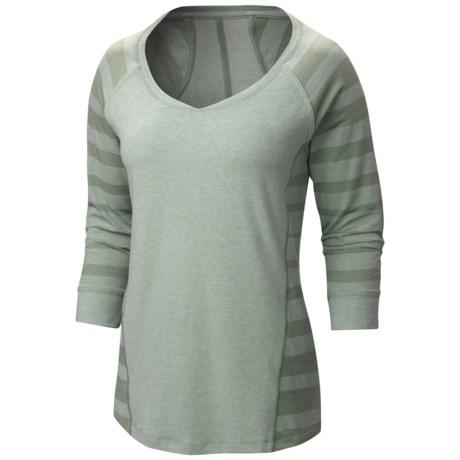 Mountain Hardwear DrySpun Burnout Shirt - UPF 25, Elbow Sleeve (For Women)