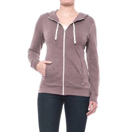 Mountain Hardwear Burned Out Hoodie - Zip Front (For Women)