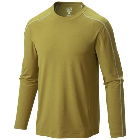 Mountain Hardwear CoolHiker T-Shirt - UPF 25, Cool.Q ZERO, Long Sleeve (For Men)