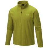 Mountain Hardwear Microchill Lite Fleece Jacket- Zip Neck, Long Sleeve (For Men)