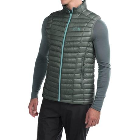 Mountain Hardwear Ghost Whisperer Q.Shield® Down Vest - 800 Fill Power (For Men)