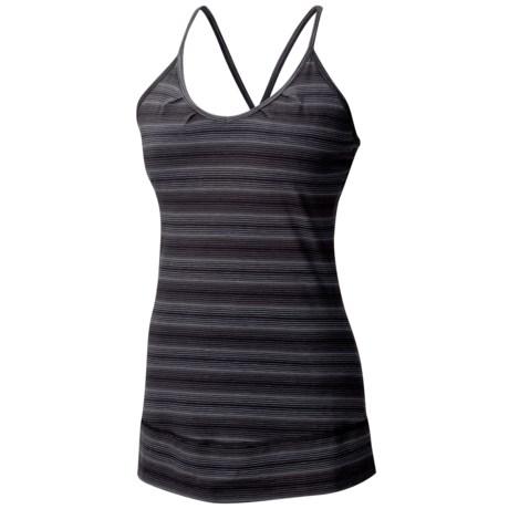 Mountain Hardwear Tonga Stripe Tank Top - Built-In Shelf Bra (For Women)