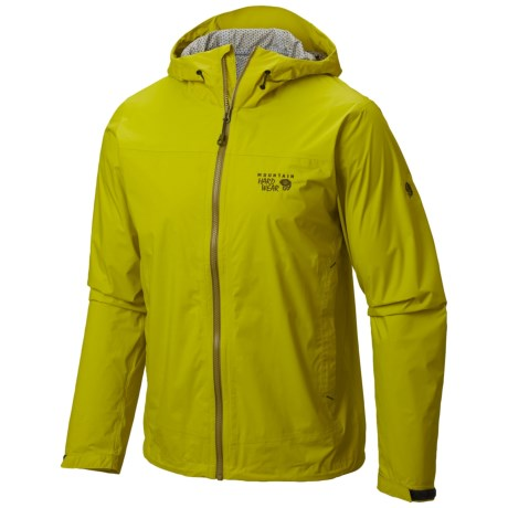 Mountain Hardwear Plasmic Ion Dry.Q® Evap Jacket - Waterproof (For Men)