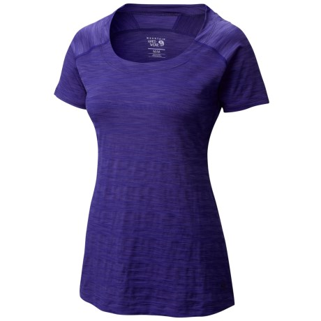 Mountain Hardwear Mighty Stripe T-Shirt - Short Sleeve (For Women)