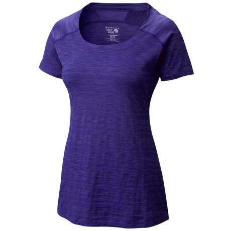 Mountain Hardwear Mighty Stripe T-Shirt - Short Sleeve (For Women)