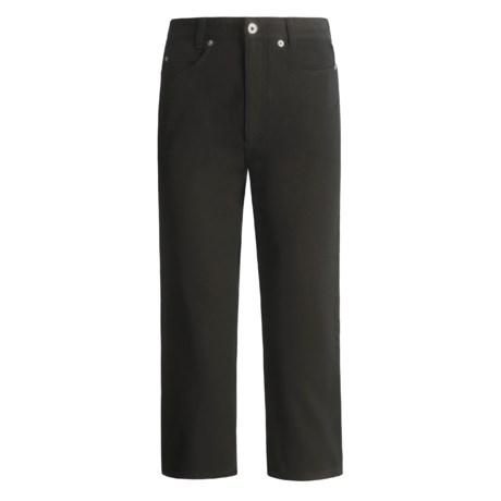 Cambio Lil Twill Capri Pants - Stretch  (For Women)