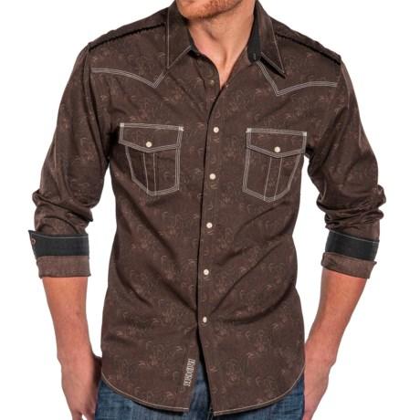 Rock & Roll Cowboy Cowboy Paisley Print Shirt - Snap Front, Long Sleeve (For Men)