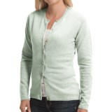 Johnstons of Elgin Cashmere Cardigan Sweater (For Women)