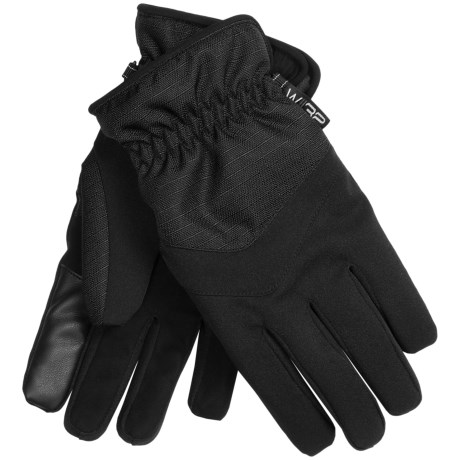 Weatherproof 32 Degrees Soft Shell Gloves - Touchscreen Compatible (For Men)