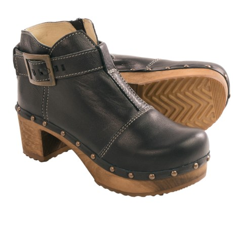 Sanita Wood Owl Ankle Boots (For Women)
