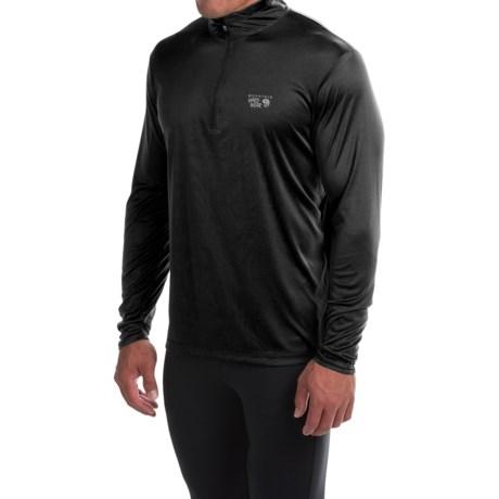 Mountain Hardwear Wicked Shirt - Zip Neck, Long Sleeve (For Men)