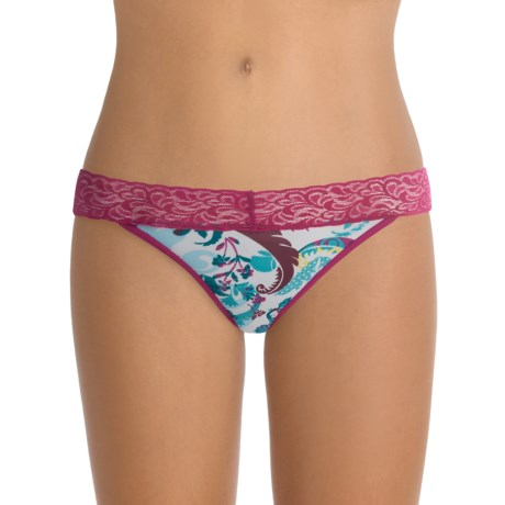 ExOfficio Give-N-Go® Printed Lacy Panties - Bikini, Low Rise (For Women)