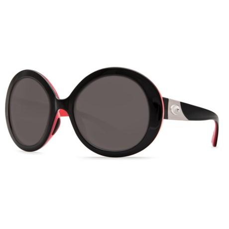 Costa Isla Sunglasses - Polarized 580P Lenses (For Women)
