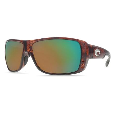 Costa Double Haul Sunglasses - Polarized 400G Glass Mirror Lenses
