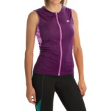 Pearl Izumi SELECT SL Print Cycling Jersey - UPF 50+, Full Zip, Sleeveless (For Women)