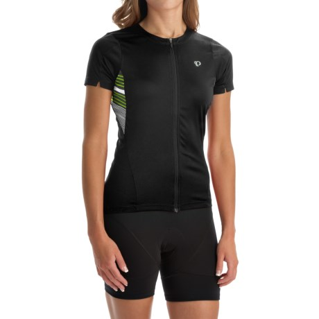 Pearl Izumi SELECT Print Cycling Jersey - UPF 50+, Full Zip, Short Sleeve (For Women)