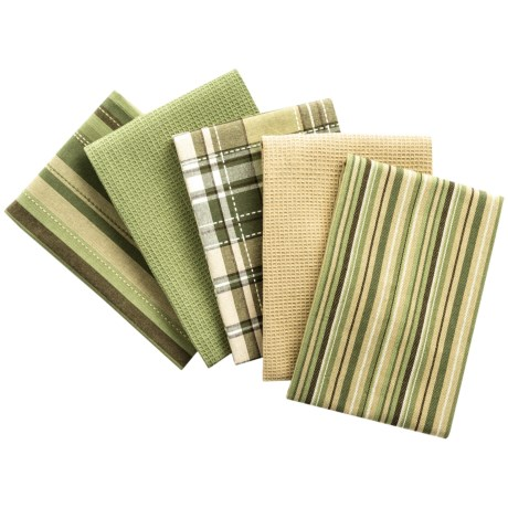 "DII Oversized Dish Towels - 18x28"", Set of 5"