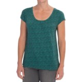 Woolrich Passing Trails Printed T-Shirt - Short Sleeve (For Women)