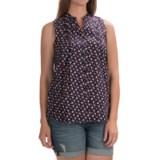 Woolrich Somerset Printed Shirt - Sleeveless (For Women)
