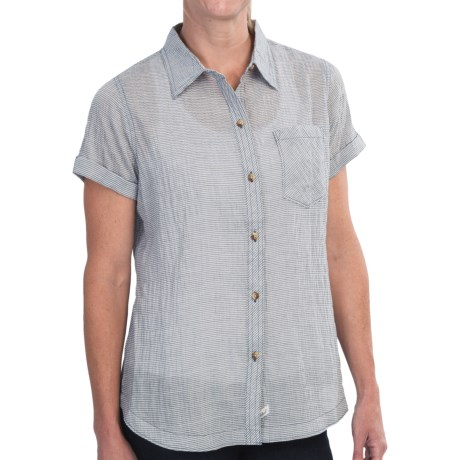 Woolrich Spring Fever Shirt - Short Sleeve (For Women)
