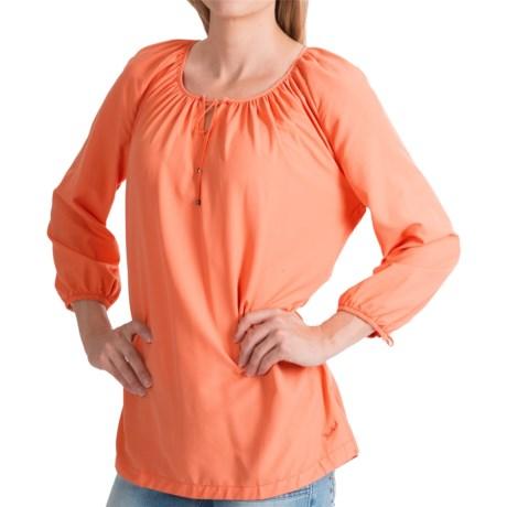 Woolrich Hopewell Tunic Shirt - UPF 40, 3/4 Sleeve (For Women)