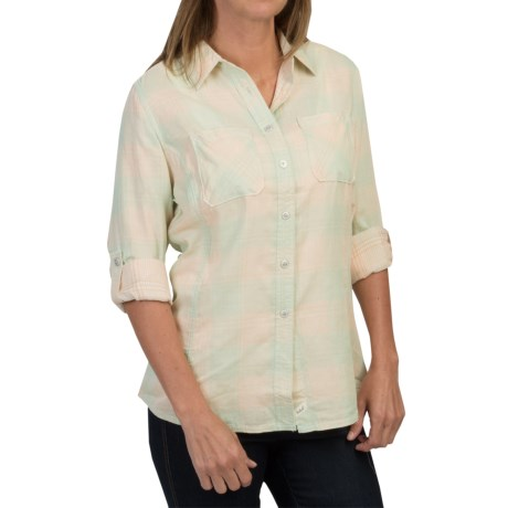 Woolrich Conundrum Shirt - Fully Lined, Long Sleeve (For Women)